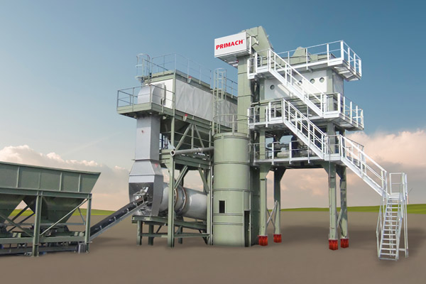 two sets primach asphalt mixing plants apply to bangladesh n8 highway project
